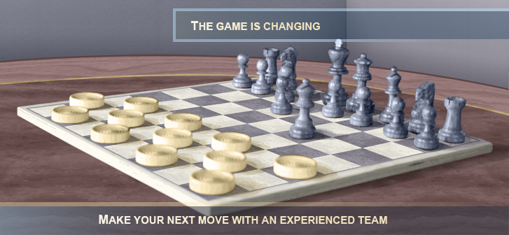 The game is changing make your next move with an experienced team