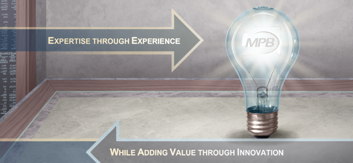 Expertise through experience while adding value through inovation